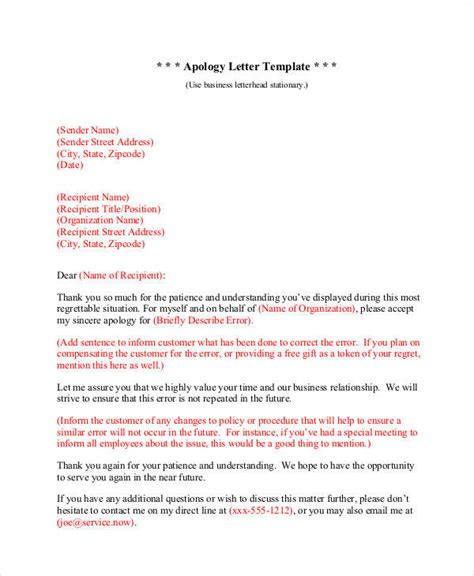 business apology letter with gift 37 sle business letters in pdf