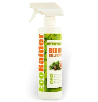 natural bed bug repellent ecoraider all natural bed bug killer spray large