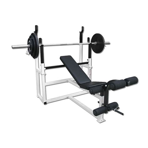 weight bench combo deltech fitness olympic squat combo bench df1050