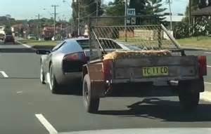 Lamborghini Aventador Trailer Lamborghini Murcielago A Useful Tow Vehicle It