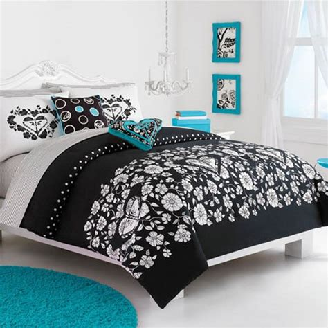 black white and turquoise bedding turquoise black and white bedroom ideas home design inside