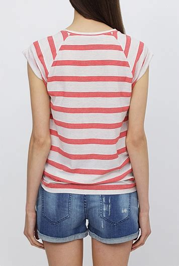 And Stripe Raglan Tshirt raglan stripe t shirt