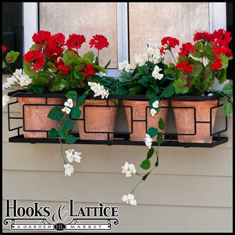 contemporary window boxes black wrought iron window box contemporary window box cages