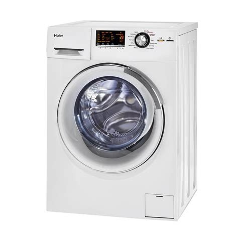 all in one washer dryer reviews haier 2 0 cu ft all in one front load washer and electric dryer in white hlc1700axw the home