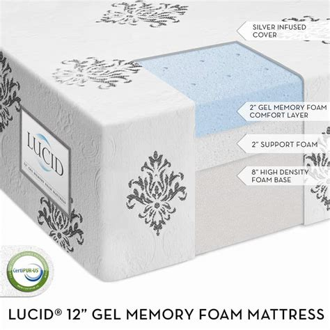 How To Leave Memory Foam Mattress by Dynastymattress New Cool 12 Inch Gel Memory Foam