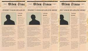 newspaper templates free newspaper headline template 13 free word ppt psd eps