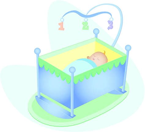 Baby Crib Clipart Crib Clip Vector Images Illustrations Istock