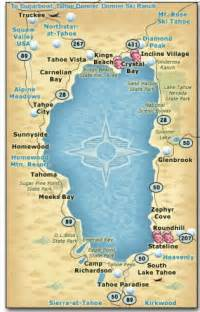 map of lake tahoe california lake tahoe lodging offers hotels resorts and activities