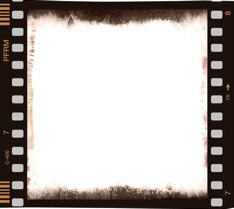 blank film strip template clipart best