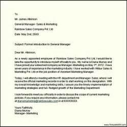 formal introduction letter templatezet