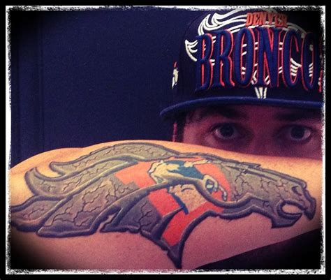 bronco tattoos 17 best ideas about denver broncos on