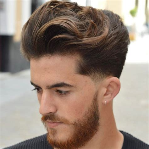medium faded sides medium length hairstyles for men 2018 men s haircuts