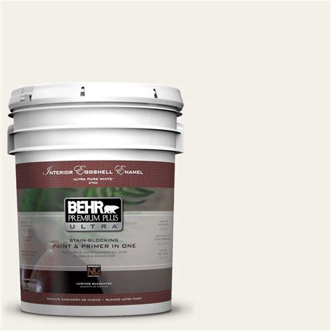 behr premium plus ultra 5 gal 780c 1 sea salt eggshell enamel interior paint 275005 the home