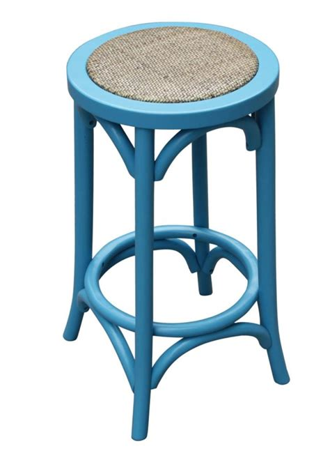 country kitchen stools new quot noosa quot oak wooden bistro country style blue