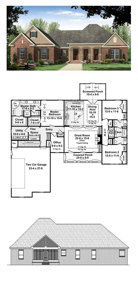 french country floor plans 63 best french country house plans images on pinterest