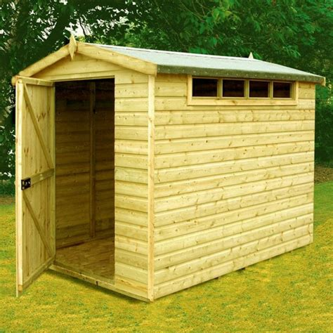 Tongue Groove Sheds goodwood security professional tongue and groove apex shed