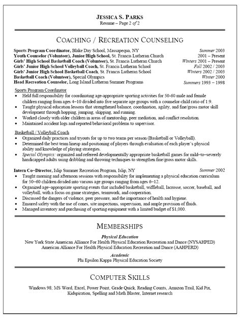 free sle resume for teachers sle resume resume sle skills preschool it
