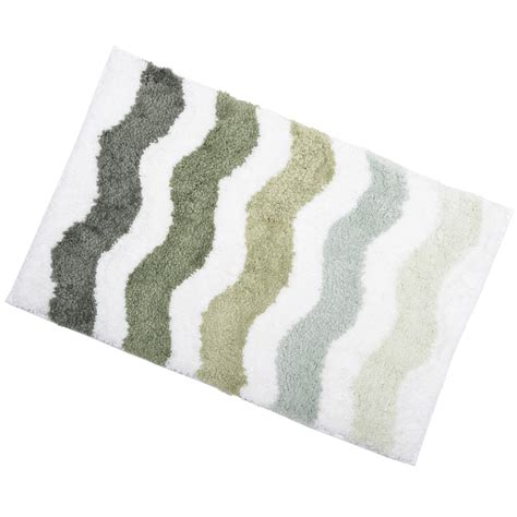 bathroom rugs non slip soft tufted microfibre bathroom shower bath mat rug non