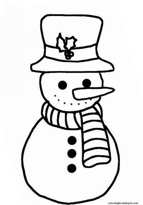 snowman coloring plain snowman coloring pages free coloring pages