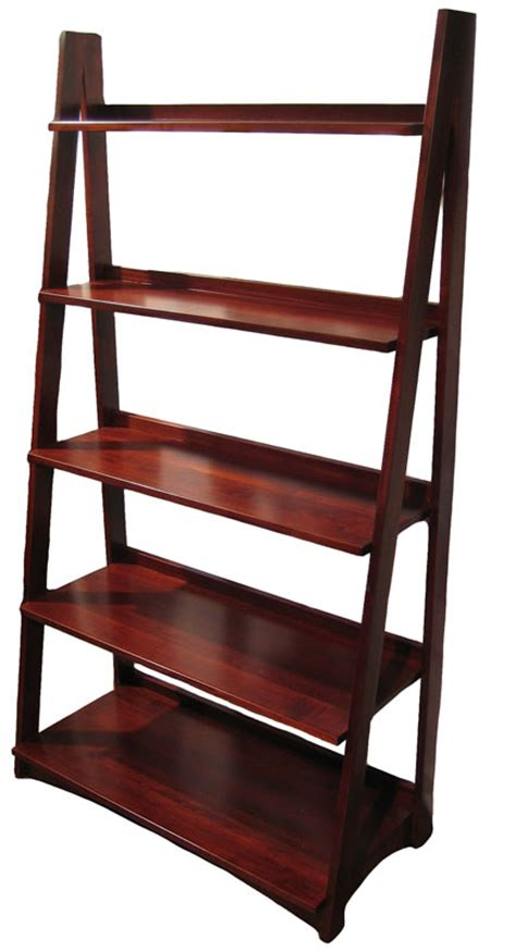 Ladder Shelf Bookcase Ladder Bookcase Ohio Hardwood Furniture