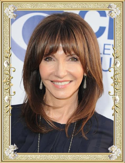 Hairstyles Bangs Or No Bangs by Bangs Or No Bangs At Age 55 55 Glamorous Hairstyles