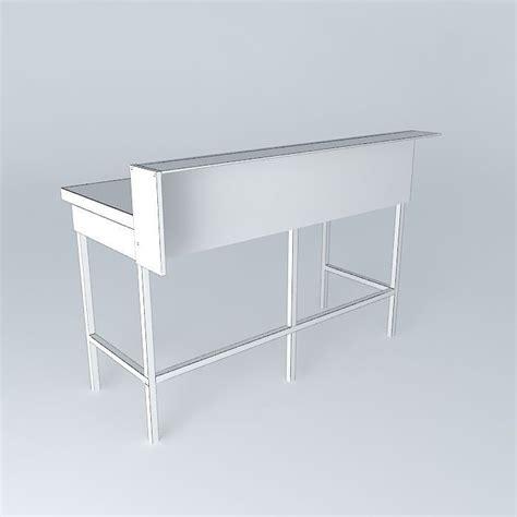 lab bench 3 simple lab bench free 3d model max obj 3ds fbx stl skp