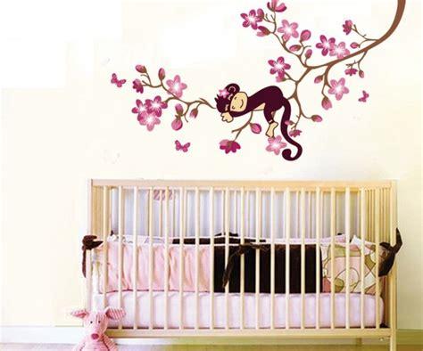 Cherry Blossom Tree Decals For Nursery by Decorazioni Fai Da Te Per La Cameretta Dei Bambini Foto