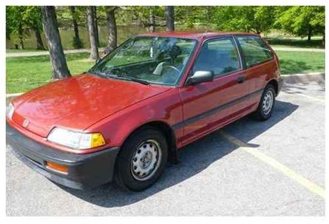 automobile air conditioning service 1989 honda civic parental controls buy used 1989 honda civic dx hatchback 3 door 1 5l in towson maryland united states for us
