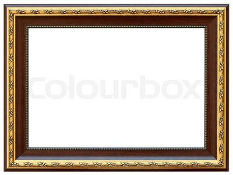 white pattern photo frame wood vintage frame isolated on white wood frame simple