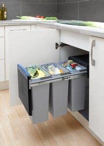 kitchen bin ideas built in waste and recycling bin from brabantia trash
