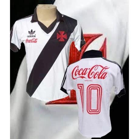 vasco coca cola camisa retr 244 vasco coca frente branca 1987