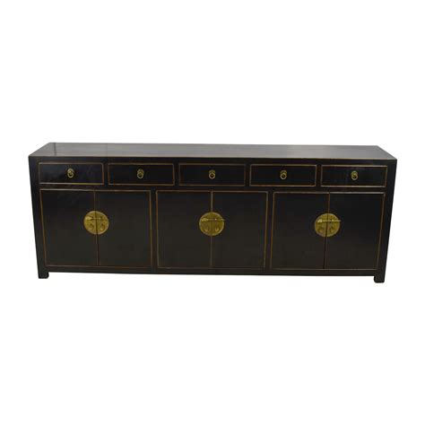 Black Drawer Cabinet 85 Custom Made Black Drawer And Cabinet Sideboard