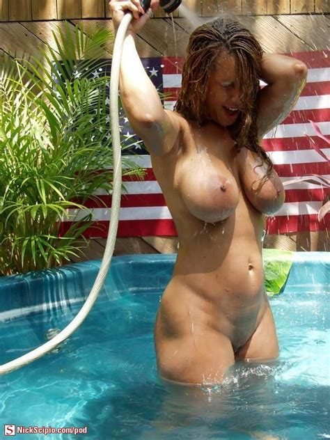 Fourth Of July Pool Milf Picture Of The Day Nickscipio Com