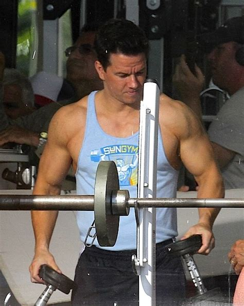 mark wahlberg bench press jaw dropping home gyms you won t believe fit n flexed