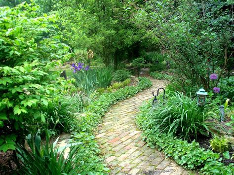 garden pathways peaceful backyards landscaping ideas and hardscape
