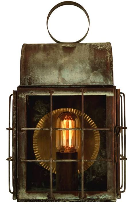 Lantern Wall Sconce Back Bay Wall Sconce Copper Lantern Nautical Outdoor Light