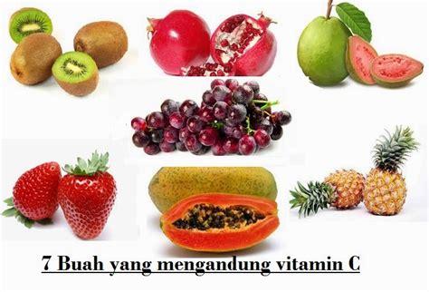 7 macam buah yang mengandung vitamin c