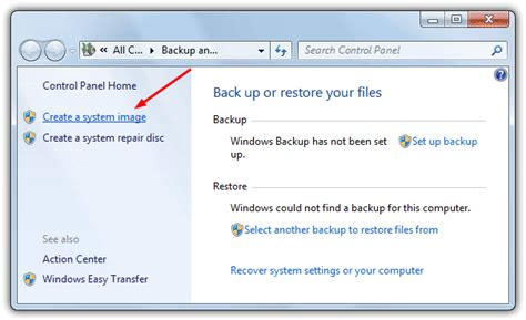windows image backup how to create a system image backup in windows 7