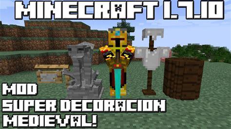 mod gta 5 minecraft 1 7 10 minecraft 1 7 10 mod super decoraci 211 n medieval youtube