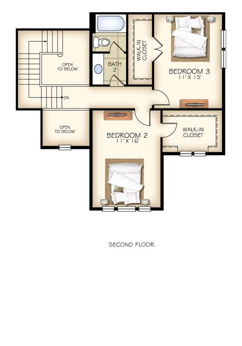 trillium floor plan trillium plan new home floor plans in libertyville il