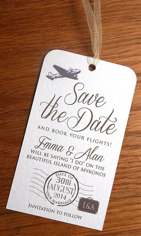 Destination Wedding ? Save the Dates, Invites and More