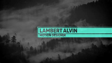 typography vimeo typography minimalism vol 01 after effects template on vimeo