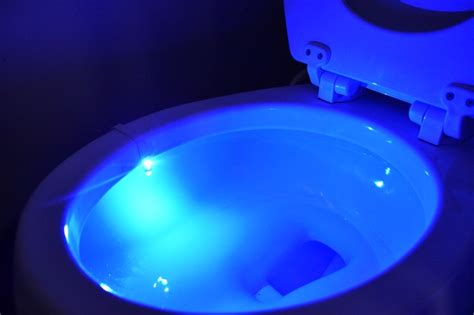 Lighted Toilet Bowl by Illumi Bowl Anti Germ Toilet Light Legit Gifts