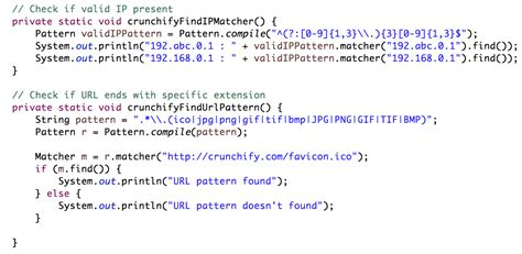 java pattern find exle java pattern optional character javascript search string