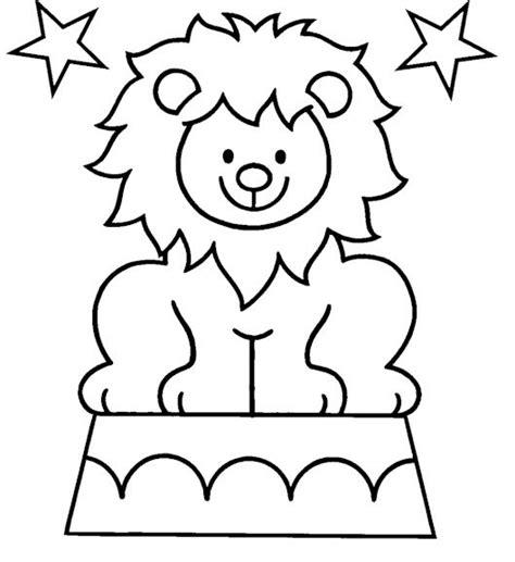 dibujos para colorear de leones actividades infantiles y desenhos para colorir e pintar para crian 231 as circo 17