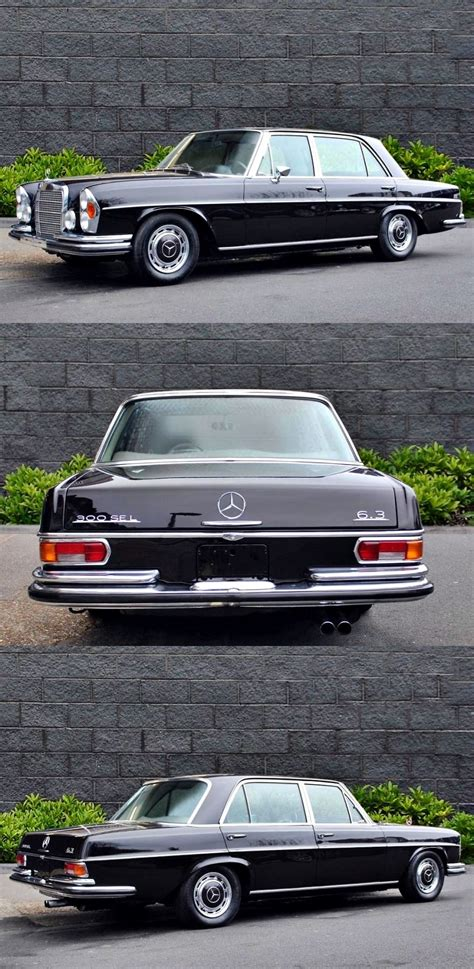Mercedes Flagship by 1969 Mercedes Flagship 6 3 300 Sel Classic Cars