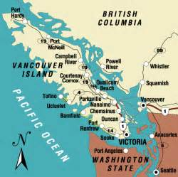 Victoria Canada Map by Regional Adventures Vancouver Island Canada The Swiss Rock