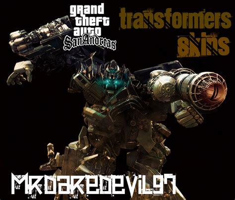 Download Game Transformers Mod | gta sa transformers skins mods file grand theft auto