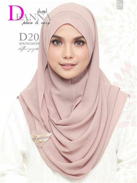 norzi beautilicious house tudung deanna instant shawl