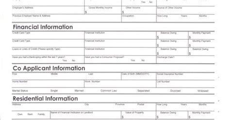 Credit Application Form Car Loan Auto Loan Credit Application Form Pdf Auto Loan Application Form Eastwest Bank Car Loan